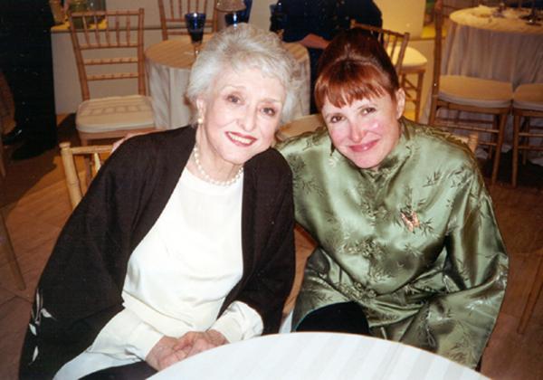 Celeste Holm and Spider